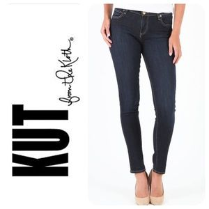 Kut From the Kloth Diana Ankle Skinny Jeans, NWT